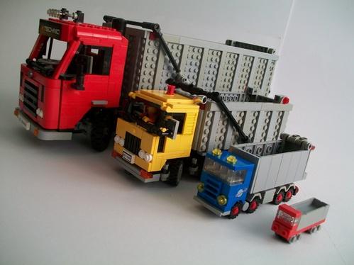 Lego Tipper Trucks