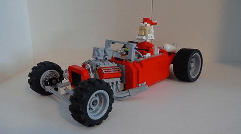 Lego Christmas Hot Rod