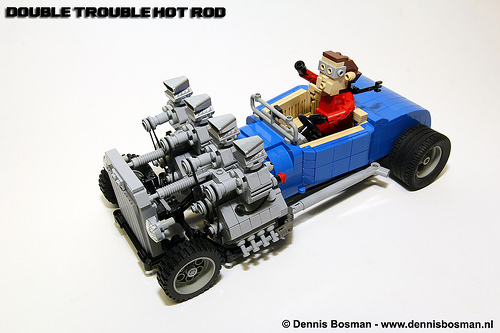 Lego Double Trouble Hot Rod