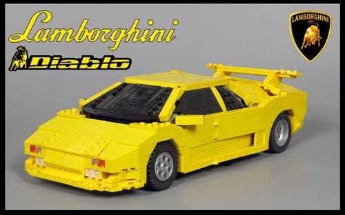 Lego Lamborghini Diablo