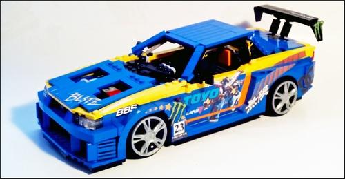 Lego R34 Skyline