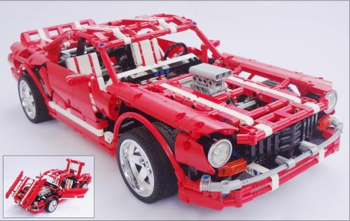 Lego Muscle Car