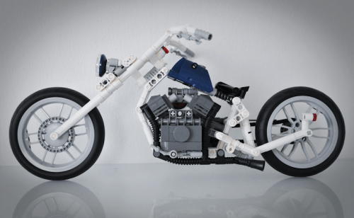 Lego Soft Tail Chopper