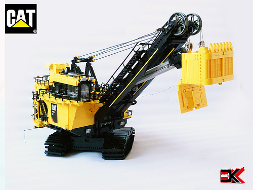 Lego Technic Cat Excavator