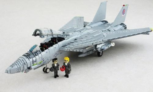 Lego Top Gun F-14 Tomcat