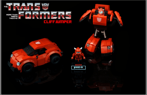 Lego Transformers Cliff Jumper