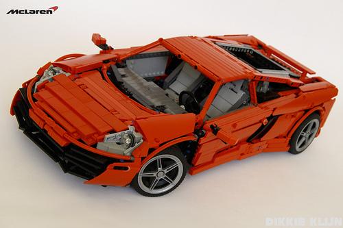 Lego McLaren MP4-12C Technic Supercar