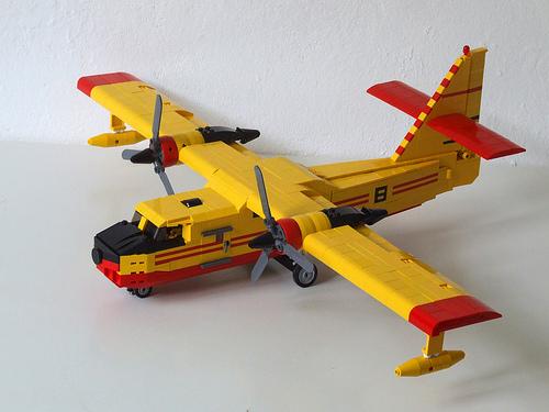 Lego Canadair CL-215 Aircraft