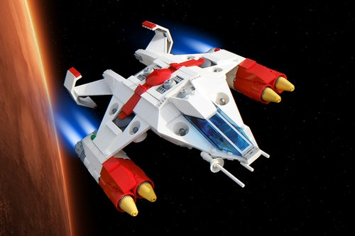 Lego Ranger Spacecraft