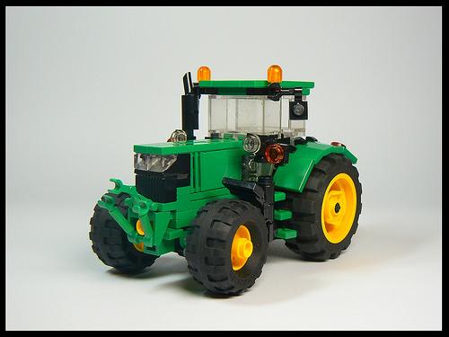 Lego John Deere Tractor