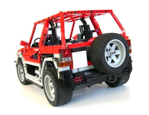 Lego Mitsubishi 4x4