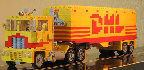 Lego DHL Truck
