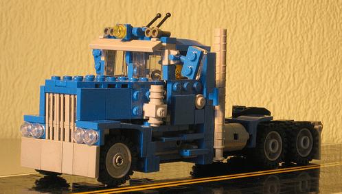Lego Long-Nose Truck