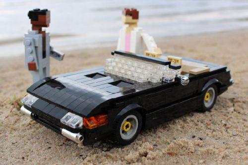 Lego Miami Vice Ferrari Daytona