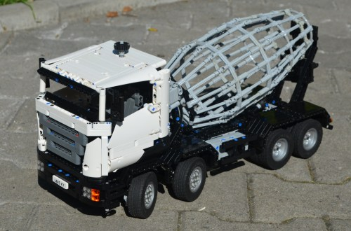 Technic Cement Mixer Truck
