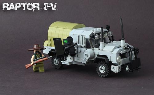 Lego Rapto Truck