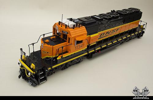 Lego BNSF EMD SD40-2 Locomotive