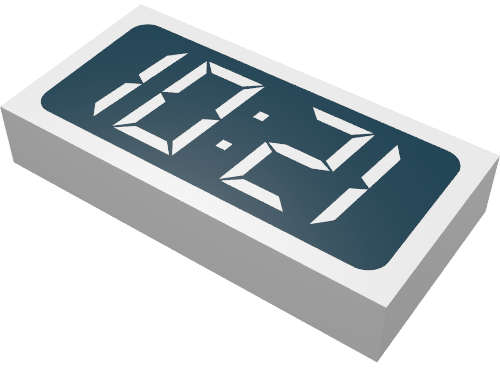 Lego Digital Clock