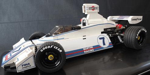 Lego Brabham BT44B Formula 1