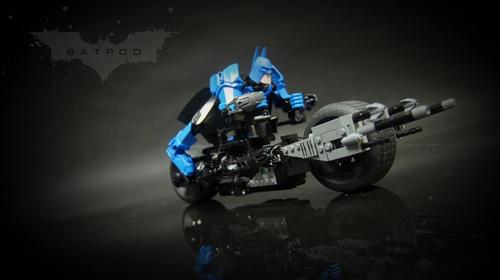 Lego Batman Batpod Batbike