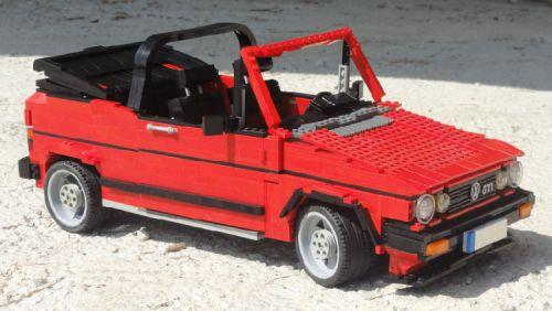 Lego Volkswagen Golf GTI Cabriolet