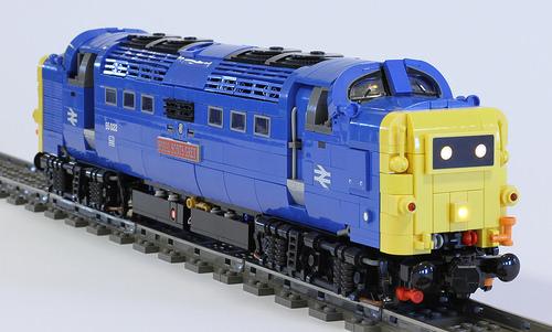 Lego Class 55 Train