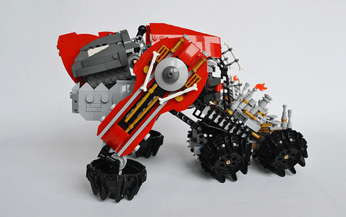 Lego Hard Dog Mech