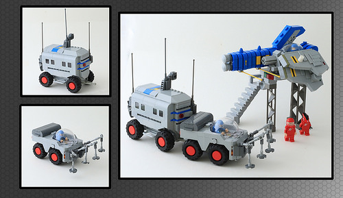 Lego Space Launch