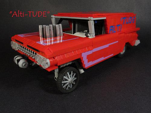 Lego '59 Chevy Impala Gasser