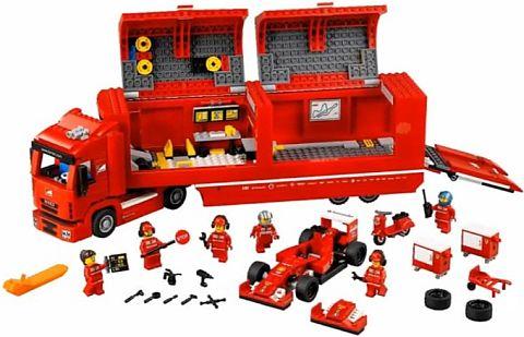 Lego 75913 Ferrari Team Truck 2015