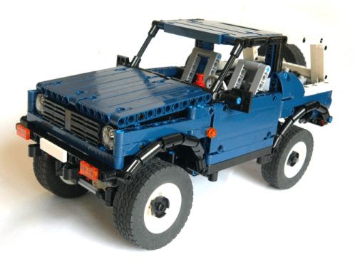 Lego Suzuki Samurai