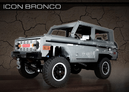 Lego Icon Ford Bronco