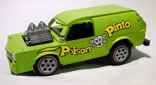 Lego Ford Pinto Hot Rod