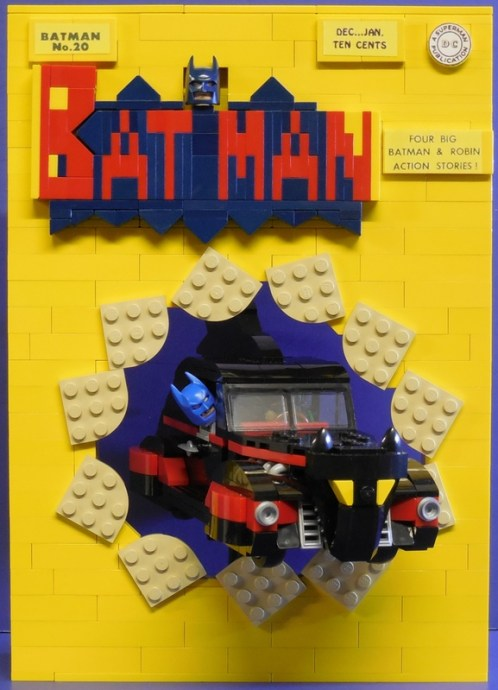 Lego Batman Comic Cover