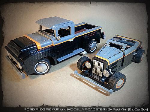 Lego Ford Hot Rod & F100