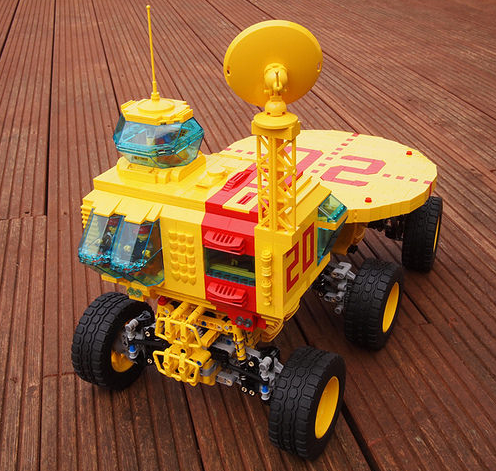 Lego Space Mobile Launch Pad