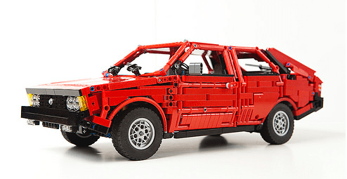 Lego Technic FSO Polonez