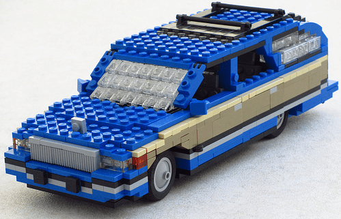 Lego Buick Roadmaster Station Wagon