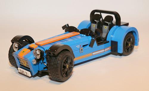 Lego Caterham 7 620R