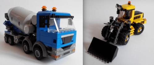Lego Construction Vehicles