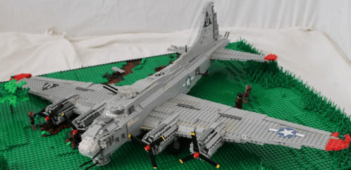Lego B-17 Flying Fortress