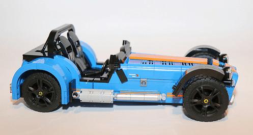 Lego Model Team Caterham 7