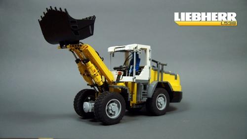 Lego Technic Leibherr Loader