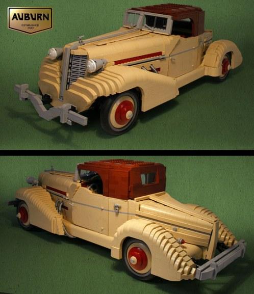 Lego Auburn Boattail Speedster