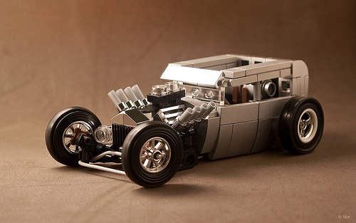 Lego Rat Rod Money Shot
