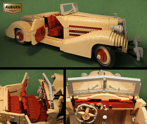 Lego 1935 Auburn Speedster
