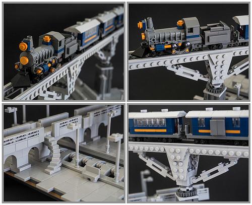 Lego Micro Steam Train