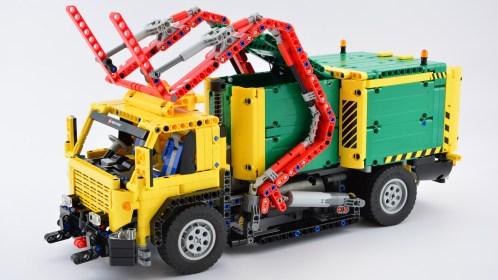 Lego Garbage Truck