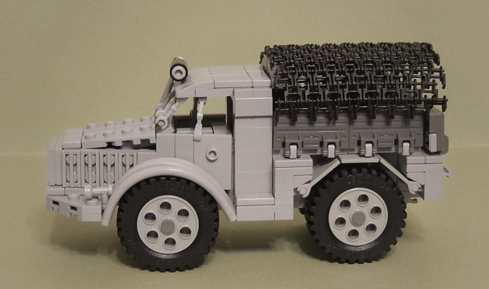 Lego Skoda RSO Truck