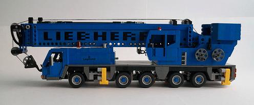 Lego Liebherr LTM Crane